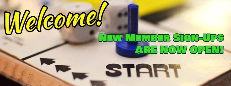 new members sign ups